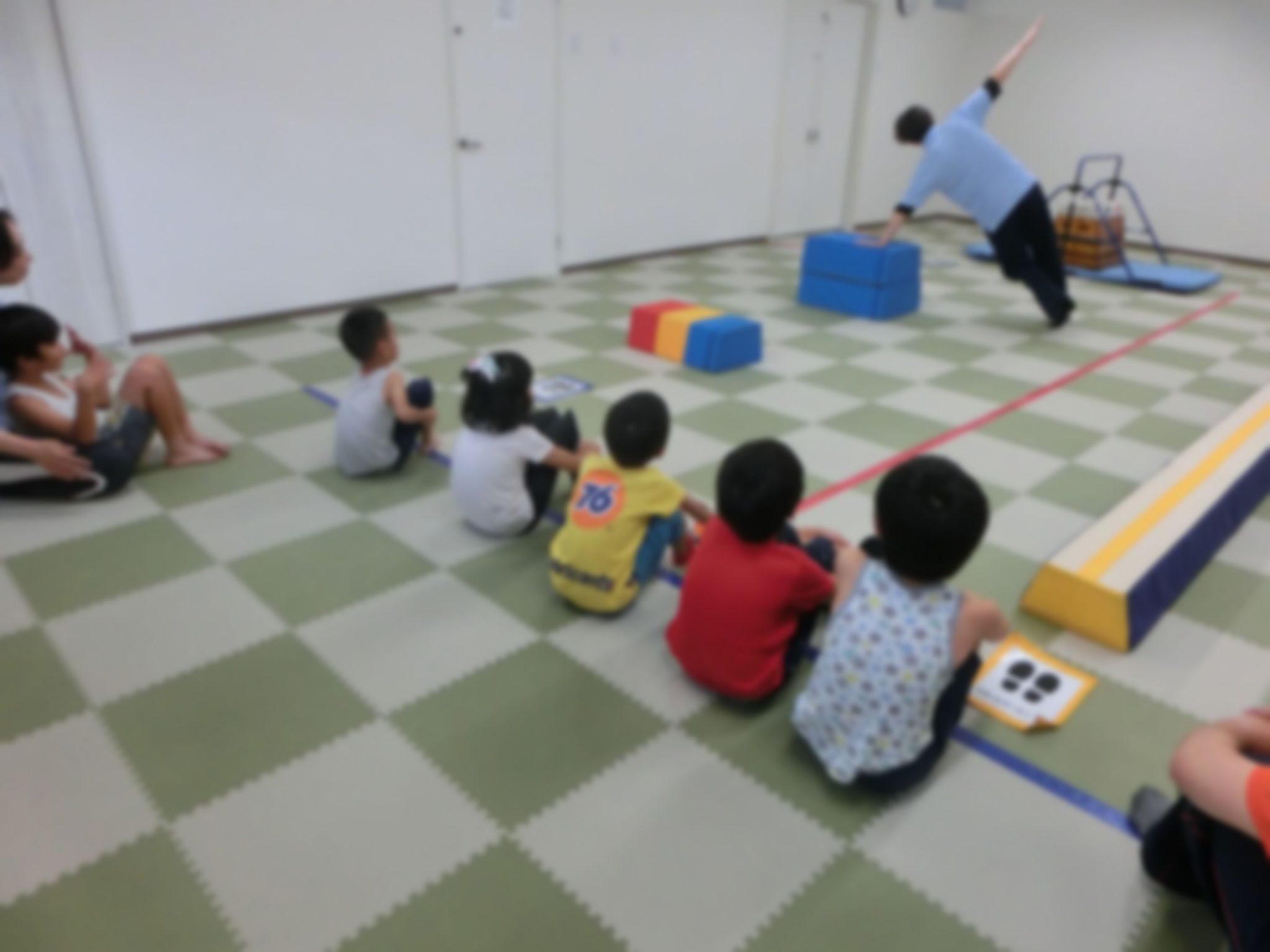 😊さすがジュニア(小学生)の運動😊