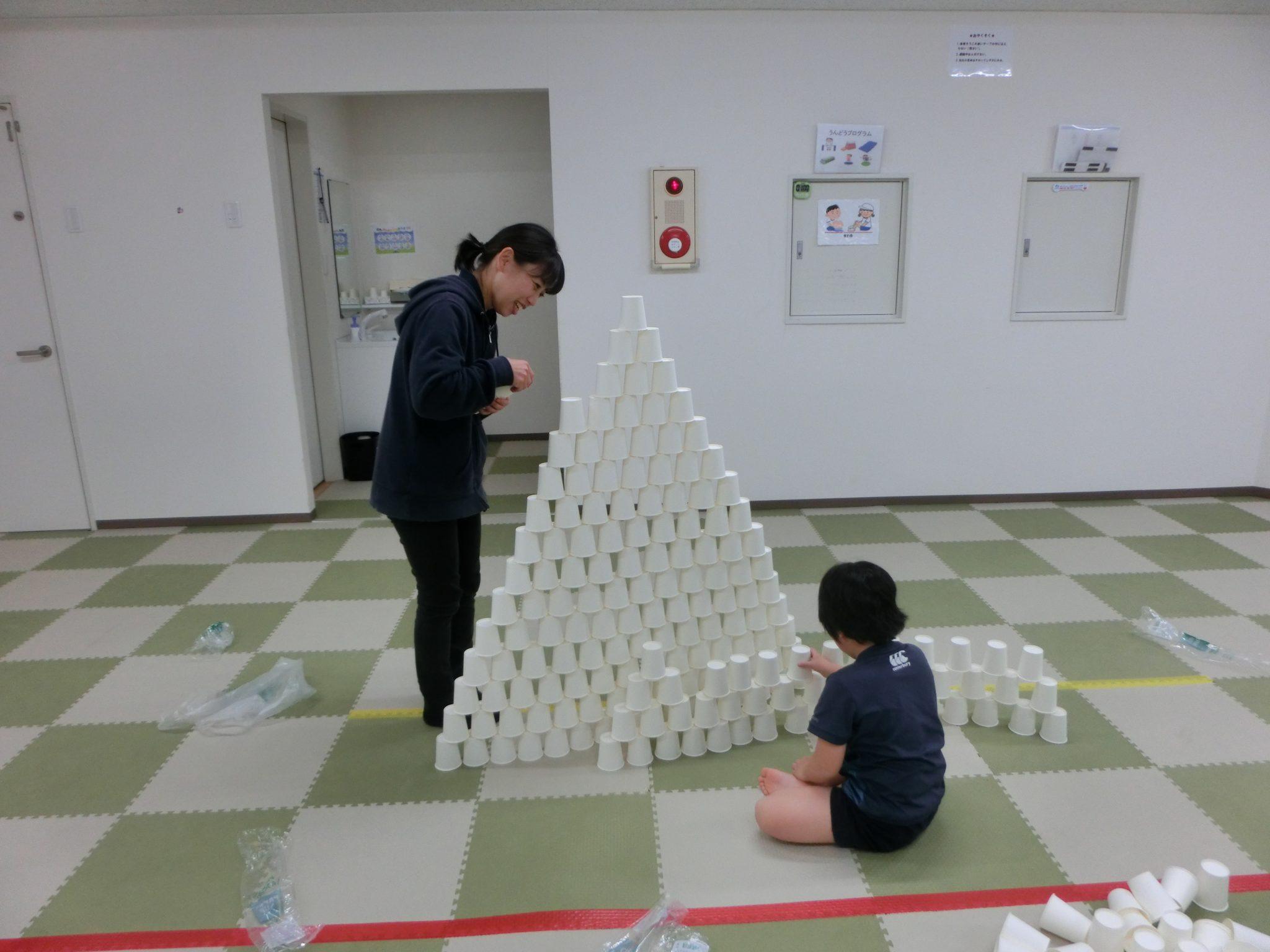😉SST😉紙コップタワー!!!