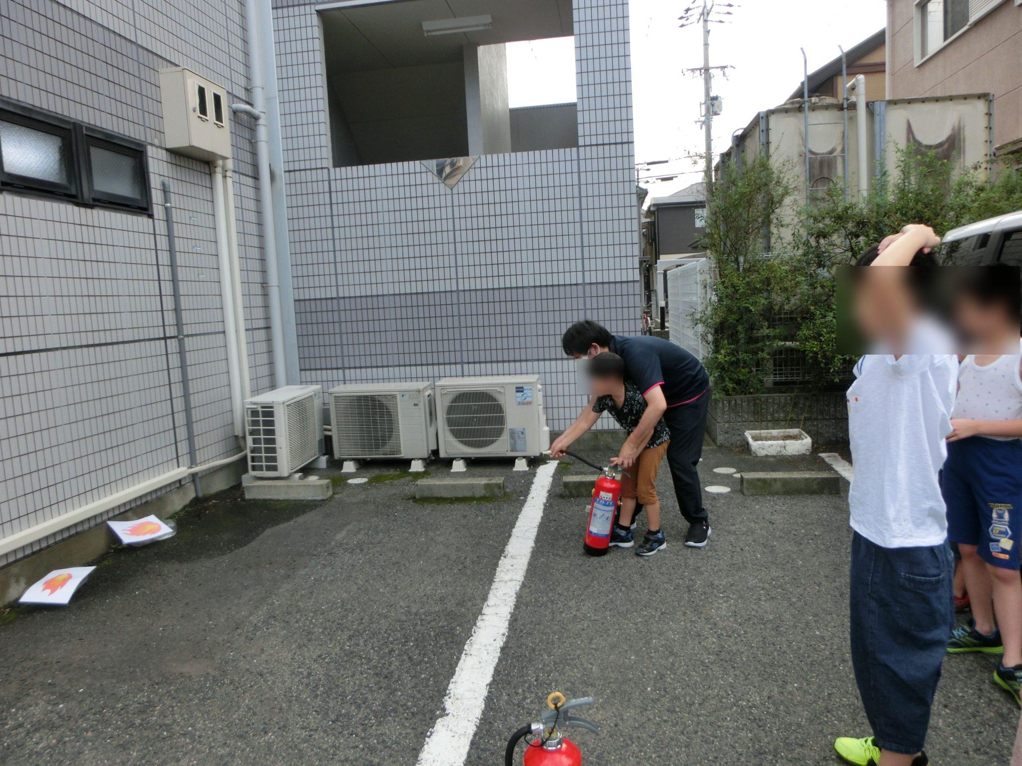 🚒避難・消火訓練🔥深井より