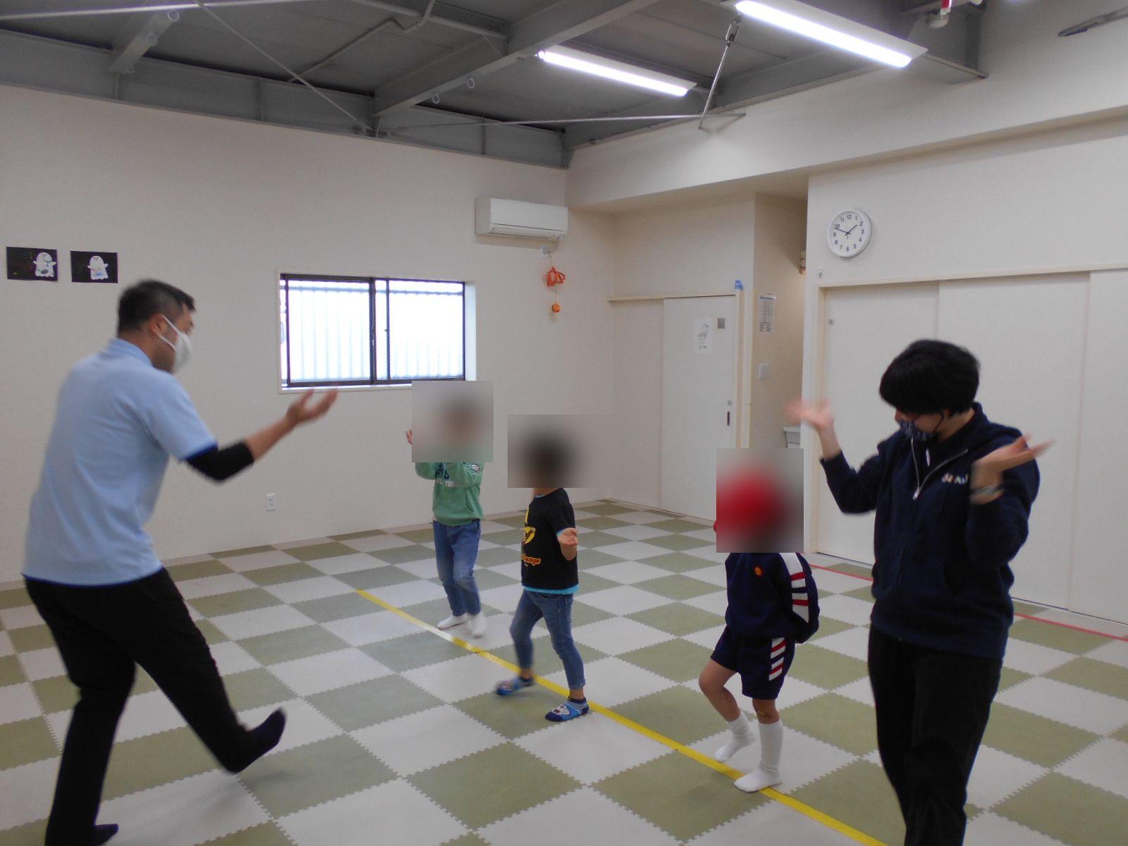 南花田😮運動プログラムの様子( ゚Д゚)